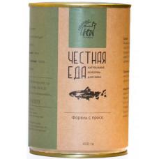 Форель с просо, тыквой и кабачком, диетическое, 400 гр